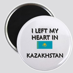 I Left My Heart In Kazakhstan Magnet