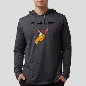 Custom Aardvark Mens Hooded Shirt