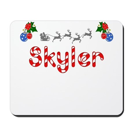 Skyler, Christmas Mousepad