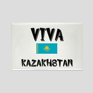 Viva Kazakhstan Rectangle Magnet