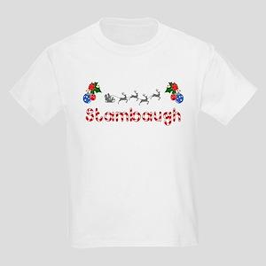 Stambaugh, Christmas Kids Light T-Shirt