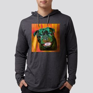 pugsltl Mens Hooded Shirt