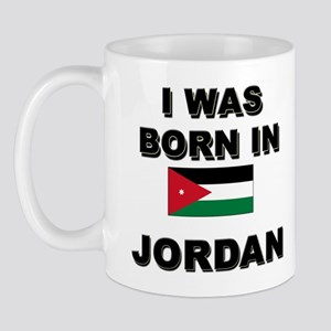 I Was Born In Jordan Mug