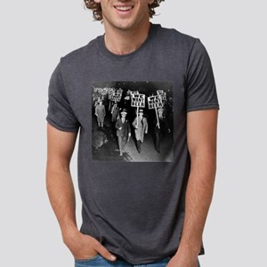 We Want Beer! Protest Mens Tri-blend T-Shirt
