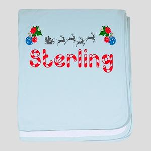 Sterling, Christmas baby blanket