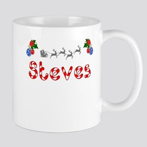 Steves, Christmas Mug