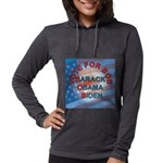 Vote BOB BIG Button 203_H_F co Womens Hooded Shirt