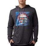 Vote BOB BIG Button 203_H_F copy Mens Hooded Shirt