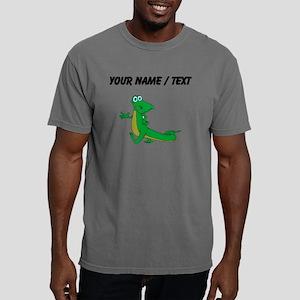 Custom Cartoon Alligator Mens Comfort Colors Shirt