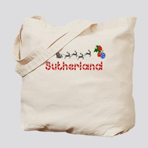 Sutherland, Christmas Tote Bag