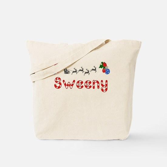 Sweeny, Christmas Tote Bag
