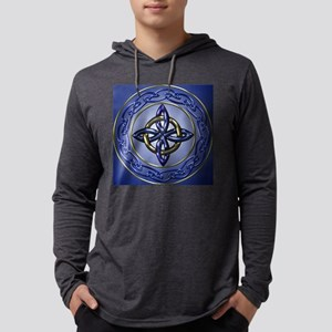 Square Mens Hooded Shirt