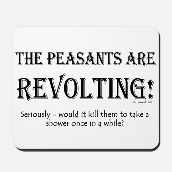 Peasants Mousepad