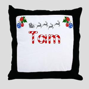 Tam, Christmas Throw Pillow