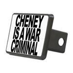 Cheney Is A War Criminal Rectangular Hitch Cover