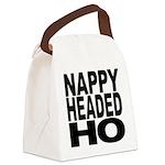nappyheadedho Canvas Lunch Bag