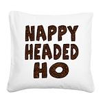 nappyheadedhohairy Square Canvas Pillow