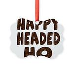 nappyheadedhohairy Picture Ornament