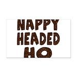 nappyheadedhohairy Rectangle Car Magnet