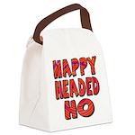 nappyheadedhohypnoticblk Canvas Lunch Bag