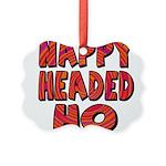 nappyheadedhohypnoticblk Picture Ornament