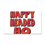 nappyheadedhohypnoticblk Rectangle Car Magnet