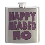nappyheadedhopurpleblk Flask
