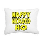 nappyheadedhoyellowblk Rectangular Canvas Pill