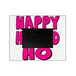 nappyheadedhopinkblk Picture Frame