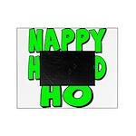 nappyheadedhogreenblk Picture Frame