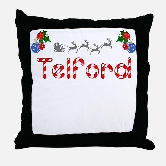 Telford, Christmas Throw Pillow