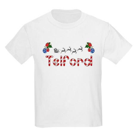 Telford, Christmas Kids Light T-Shirt
