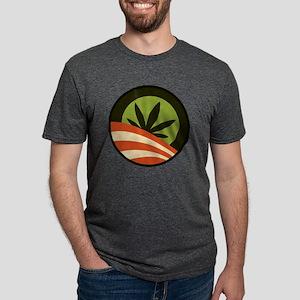 Hope Leaf Mens Tri-blend T-Shirt