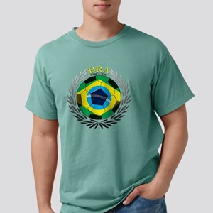 Brazil Soccer Mens Comfort Colors Shirt