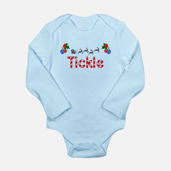 Tickle, Christmas Long Sleeve Infant Bodysuit
