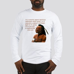 """Victory vs. Massacre"" Long Sleeve T-Shirt"