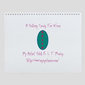 Golok Buday Drawings Wall Calendar
