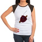 Artsy  Women's Cap Sleeve T-Shirt