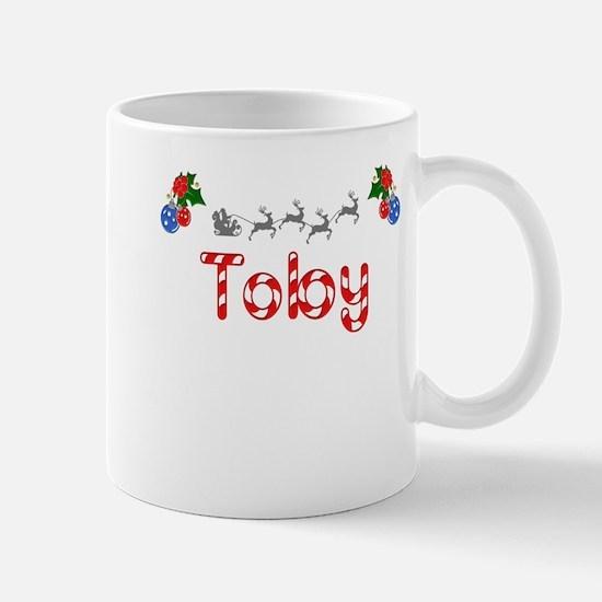 Toby, Christmas Mug