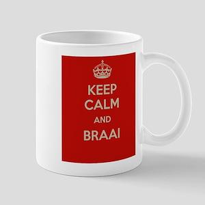Keep Calm and Braai Mug