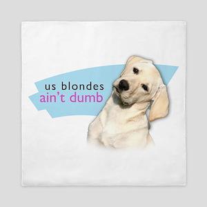 Dumb Blonde Queen Duvet