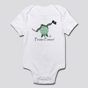 Pirate Sea Turtle Infant Bodysuit