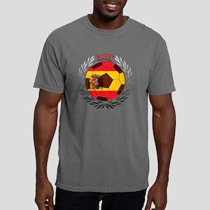 Spain Soccer Mens Comfort Colors Shirt