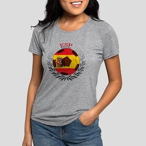 Spain Soccer Womens Tri-blend T-Shirt
