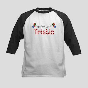 Tristin, Christmas Kids Baseball Jersey