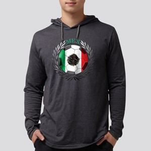 Mexico Soccer Mens Hooded Shirt