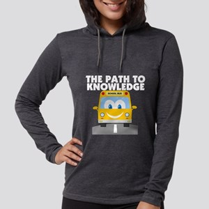 Path to Knowledge Womens Hooded Shirt