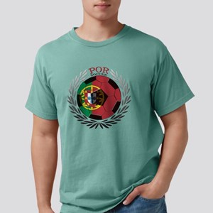 Portugal Soccer Mens Comfort Colors Shirt