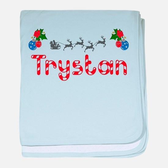 Trystan, Christmas baby blanket