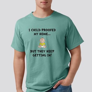 Child Proofed Mens Comfort Colors Shirt